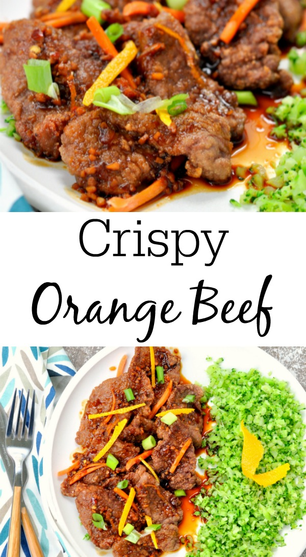 Chinese Crispy Orange Beef
