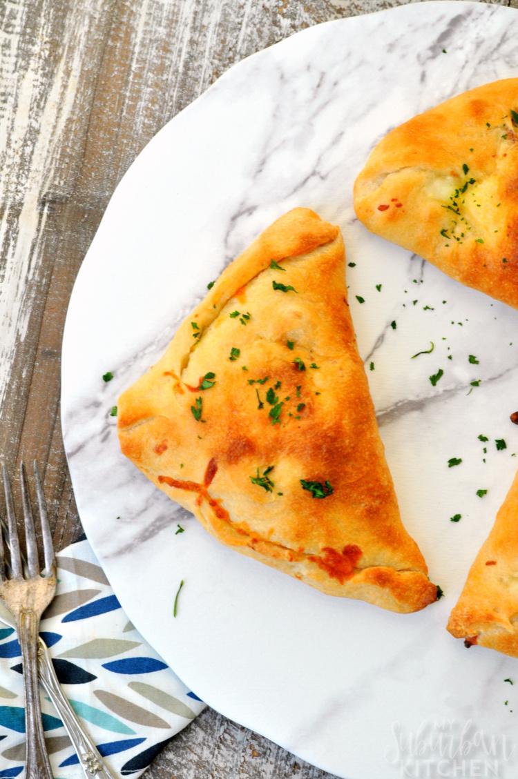 Easy Calzone Recipe: Ham Egg Cheese Breakfast Calzones
