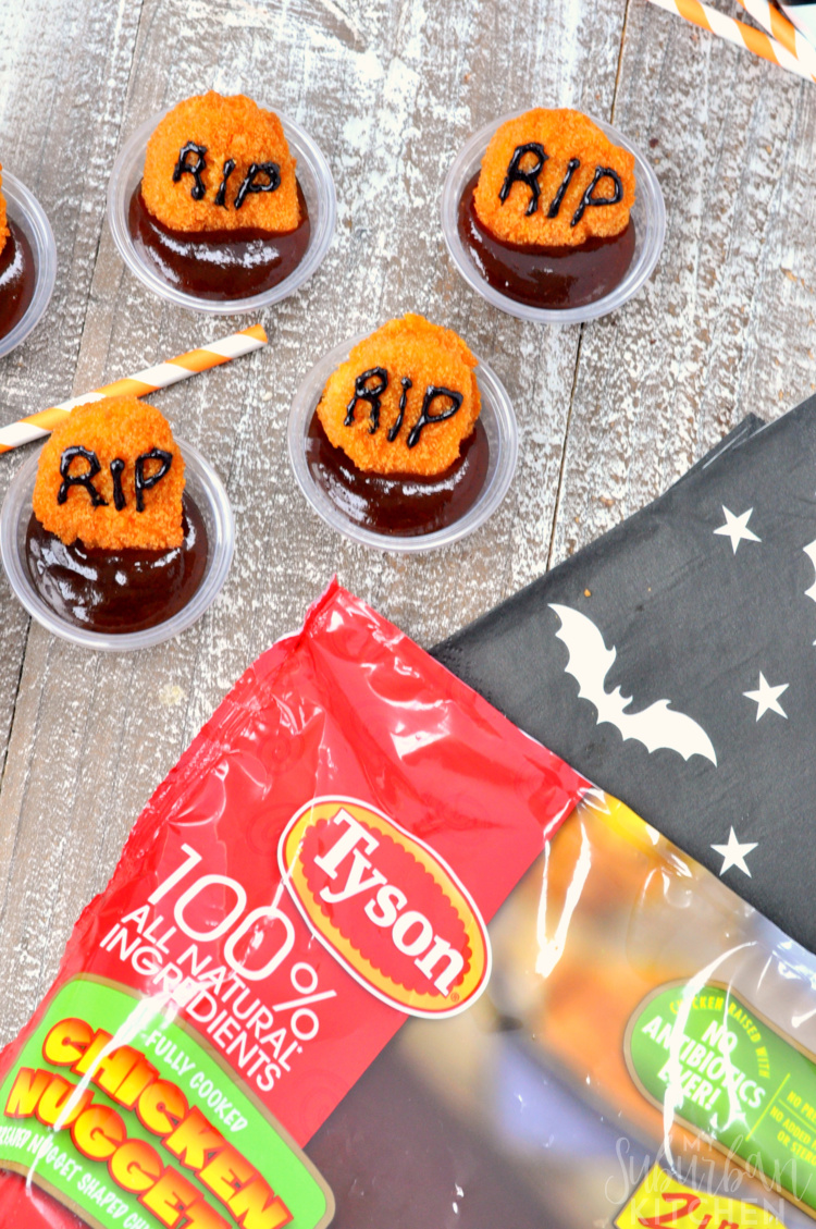 Photo of chicken nugget graveways with tyson packaging