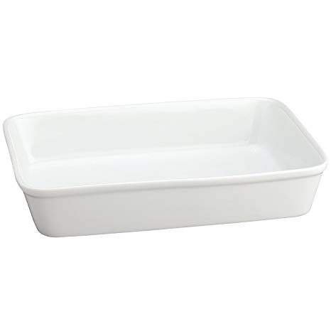 13-Inches x 9-Inches x 2.5-Inches White Baking Dish