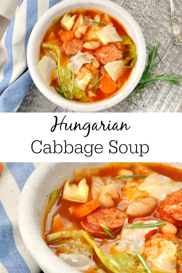Best Cabbage Soup Recipe - So easy to make and full of tons of flavor. #healthyrecipes #healthysoup