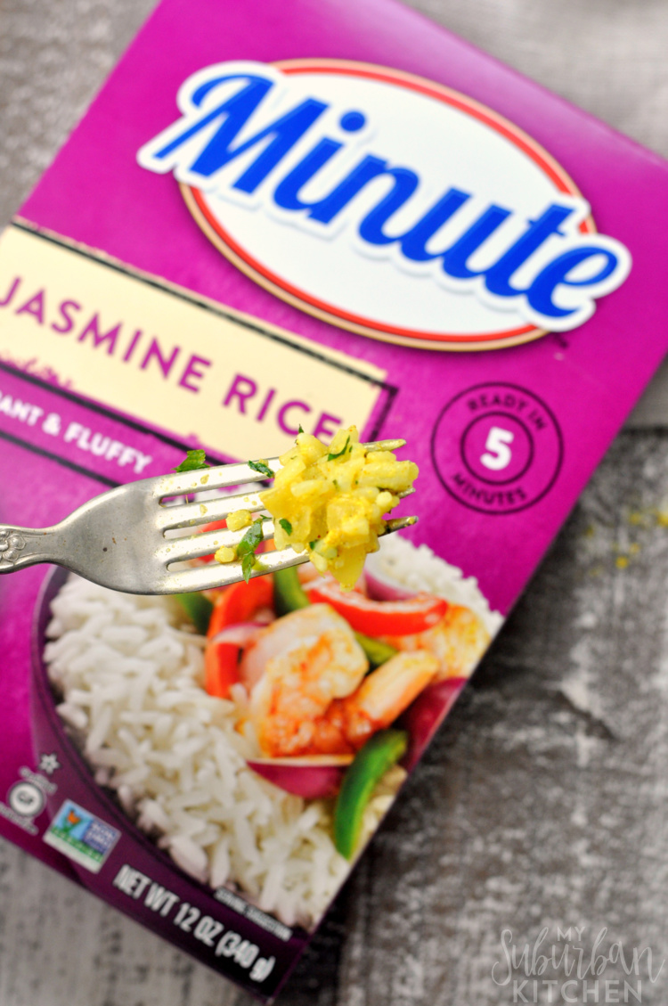 Box of Minute Jasmie Rice
