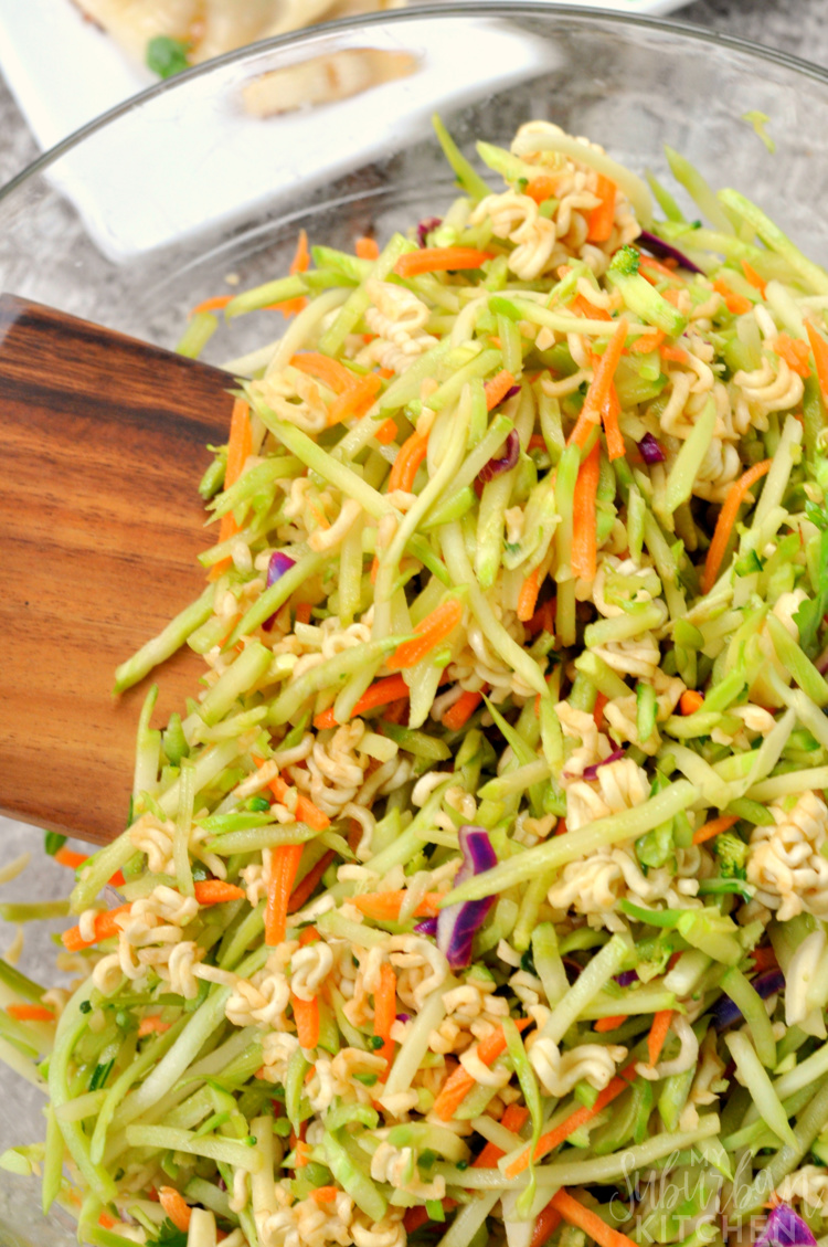 Asian Brococli Slaw Recipe