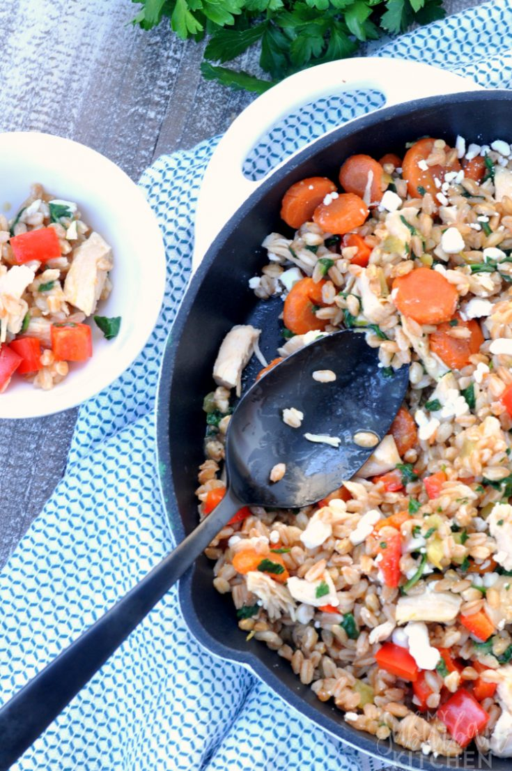 Balsamic Chicken Vegetable Skillet