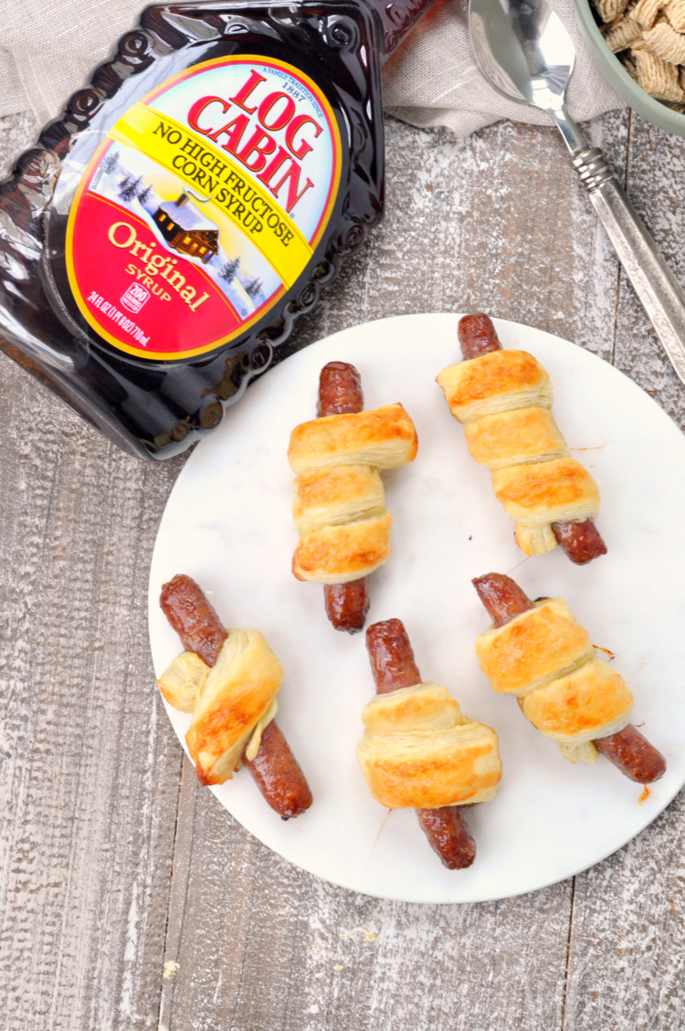 Breakfast Sausage Roll-Ups
