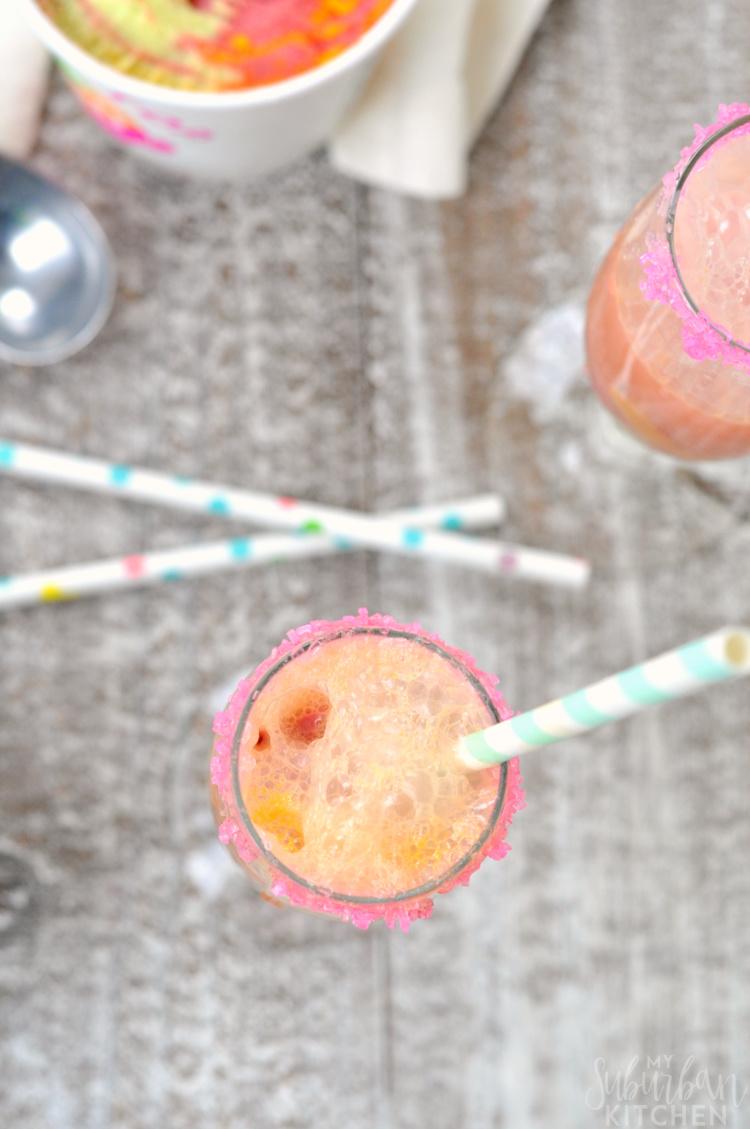 Rainbow Sherbert Mimosa