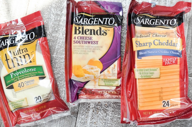 Sargento Sliced cheese Options