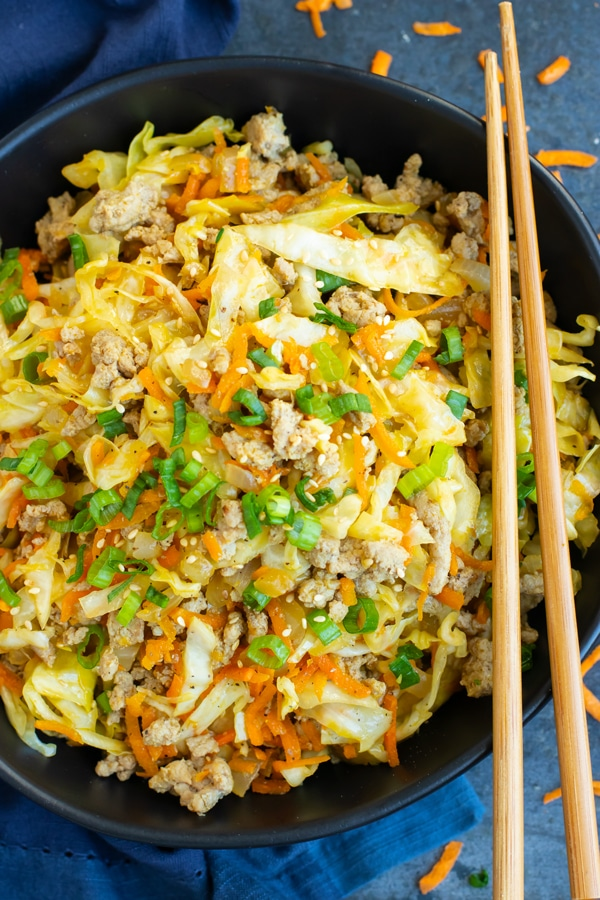 Egg Roll in a Bowl from Evolving Table