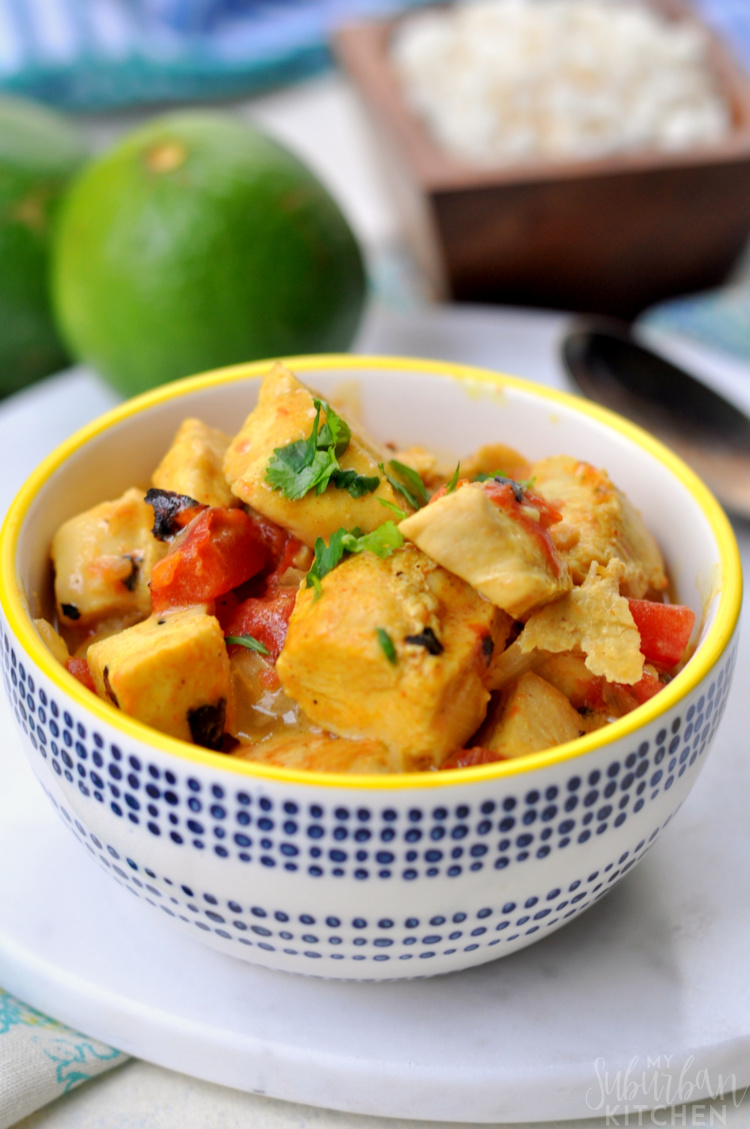 Thai Coconut Chicken Curry