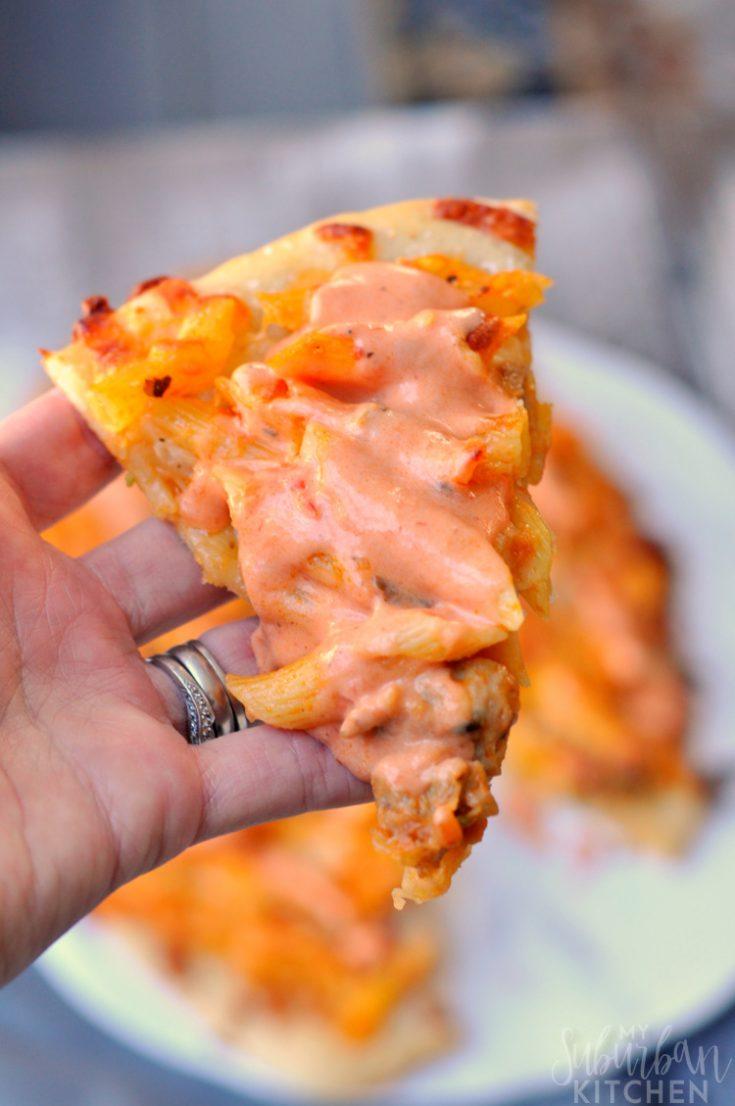 Rosa Sauce Penne Pizza