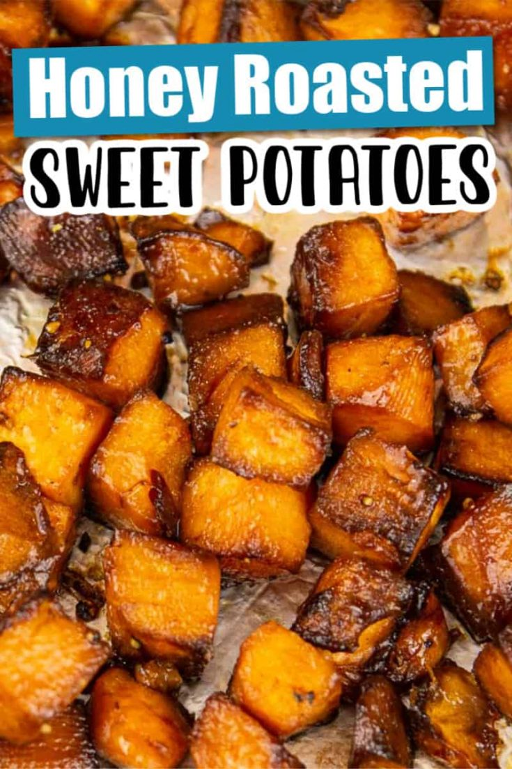 Honey Roasted Sweet Potatoes!